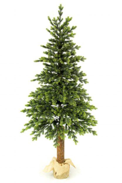 Umělý vánoční 3D stromeček Smrk Italský na pařezu