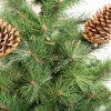 Umělý vánoční stromek Borovice Tatranská detail 2
