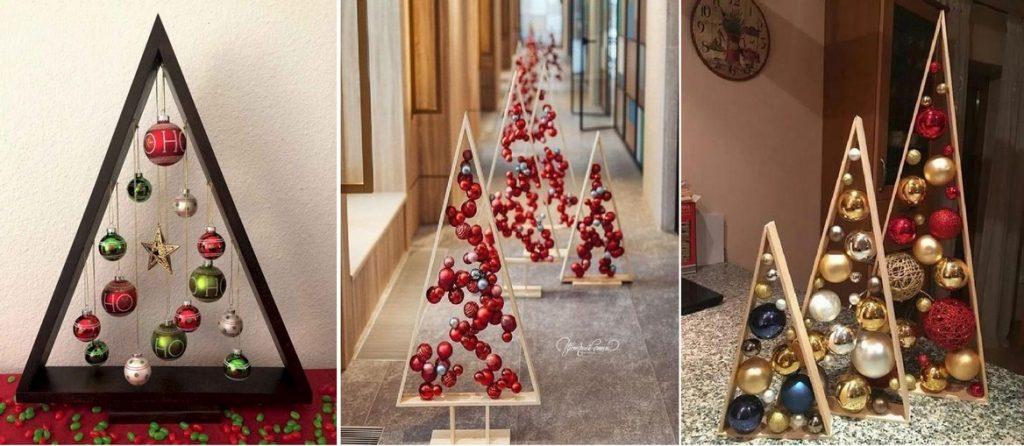 Vánoční stromek z trojúhelníku