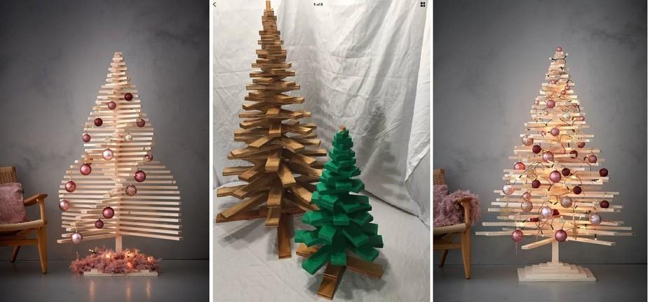 Stromek z popílených dřev