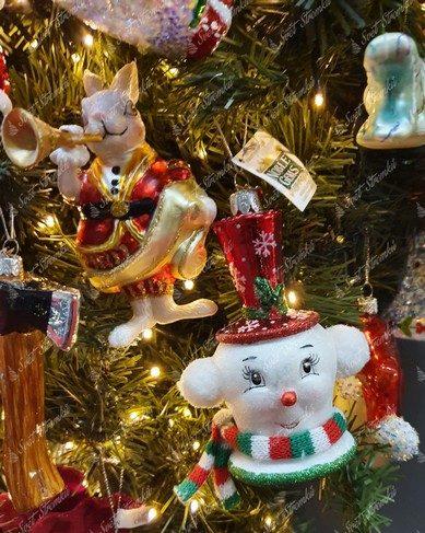 Retro postavičky na vánoční stromeček