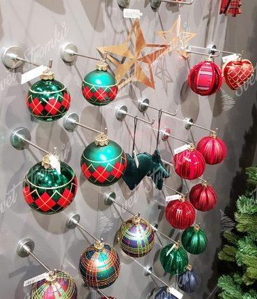 Retro vánoční ozdoby na stromeček