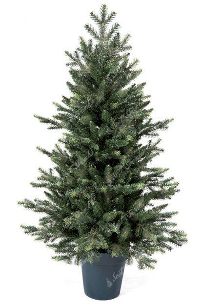 Stromek obsahuje velký počet 3D větviček a je k nerozeznání od živého. Stromek na obrázku ma 105cm a celý je postaven v umělém květináči.