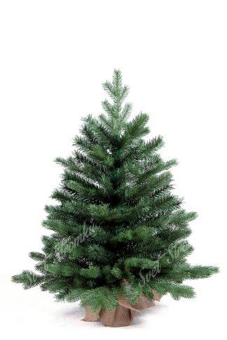 Krásný malý stromek, který se rozpíná na spodku do šířky. Obsahuje velký počet 3D větviček a tak je vypadá jako živý malý stromek z lesa. Stromek stojí na umělém podstavci zabaleném v pytlovině.