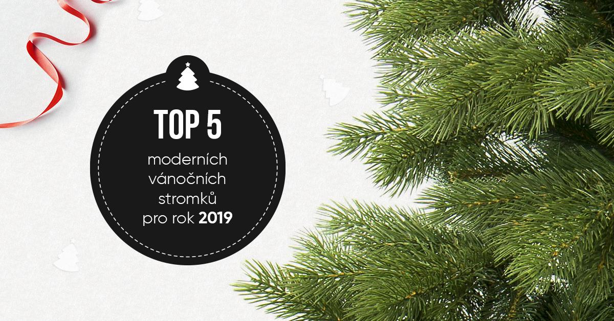 Moderní vánoční stromky top 5 pro rok 2019