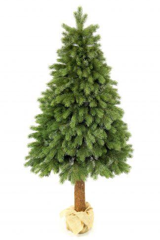 Umělý vánoční 3D stromek Borovice Himalájská na pařezu