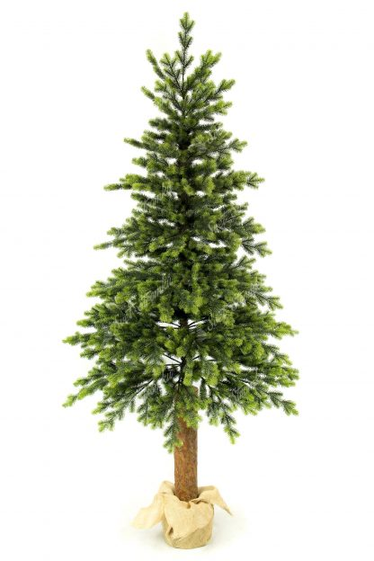 Umělý vánoční 3D stromek Smrk Italský na pařezu