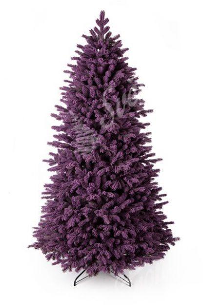 Umělý vánoční stromek 3D Smrk Purpurový