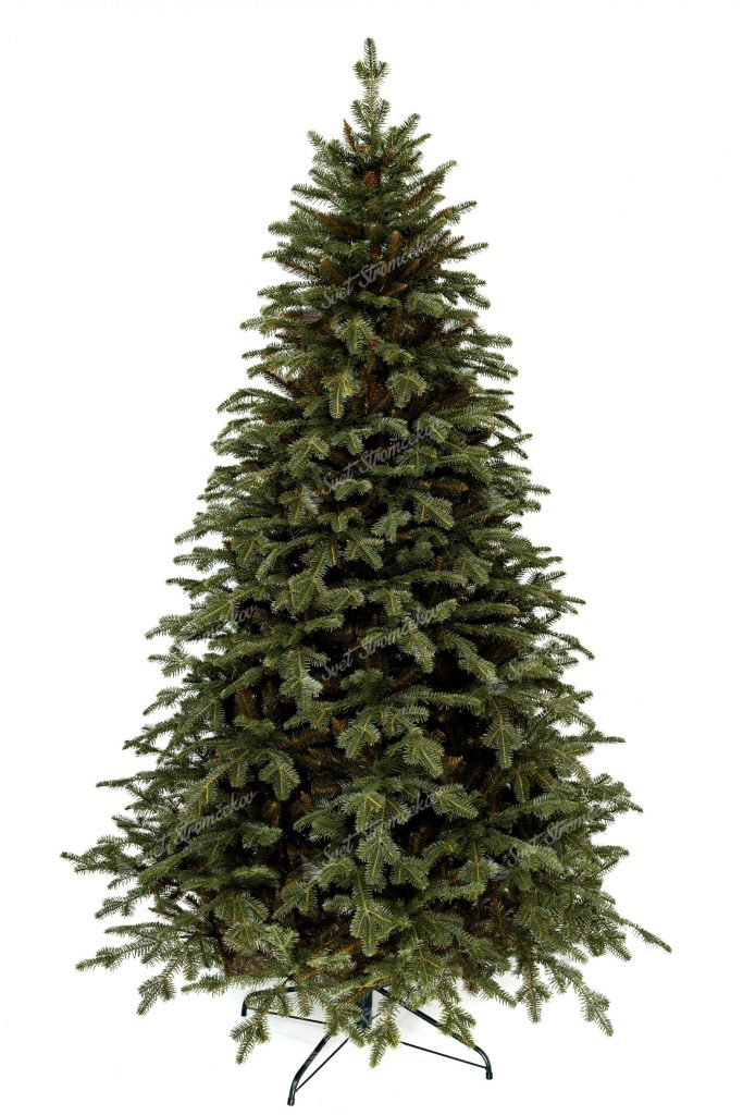Umělý vánoční stromek 3D Jedle Smaragdová