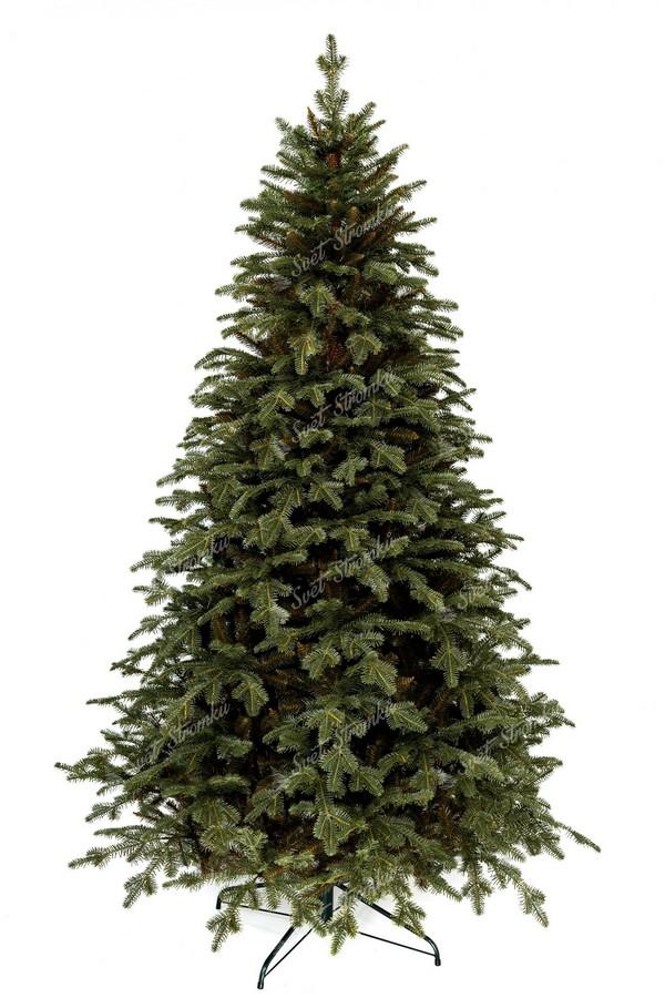 Moderní vánoční stromeček 2020 s propracovaným 3D jehličím