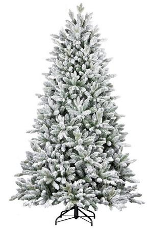 Bílý vánoční stromeček 3D Smrk Královský