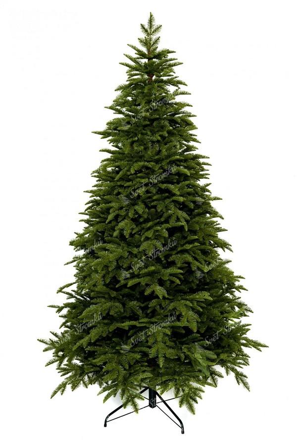 Luxusní vánoční stromeček tvořen 100% 3D jedlovým jehličím
