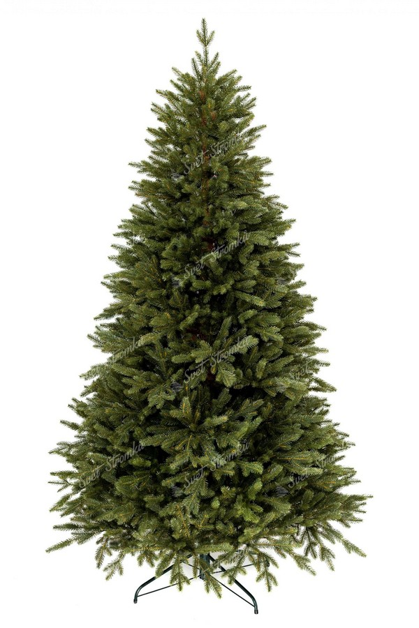 Luxusní vánoční stromeček 2020 tvořen 100% 3D smrkovým jehličím