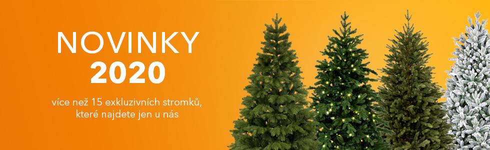 Novinky 2020 - umělé vánoční stromky