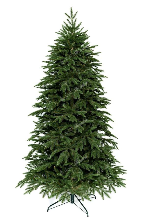 Moderní vánoční stromek s propracovaným kmenem stromku