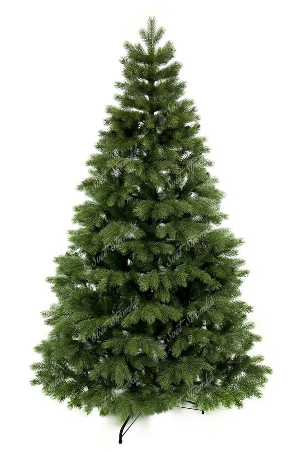Moderní vánoční stromek tvořen 100% jen s 3D borovicovým jehličím