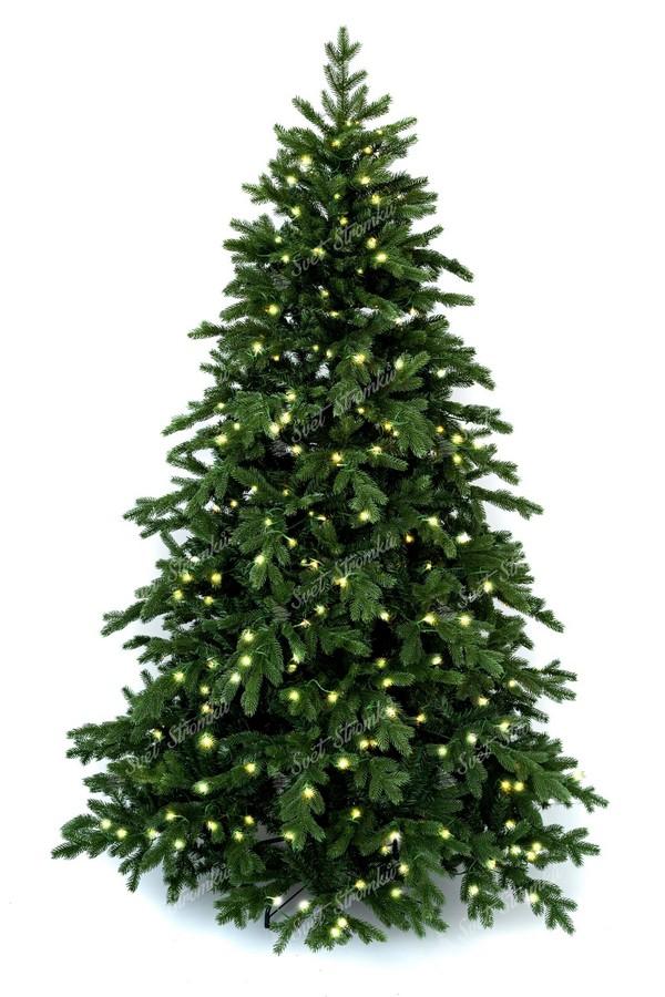 Moderní vánoční stromek s LED osvětlením