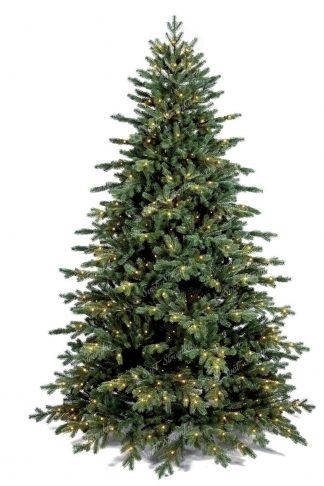 Detail jehličí s LED osvětlením vánoční stromeček FULL 3D Smrk Exkluzivní