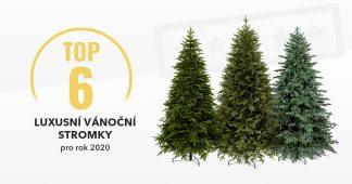 Luxusní vánoční stromky - Top6 pro rok 2020