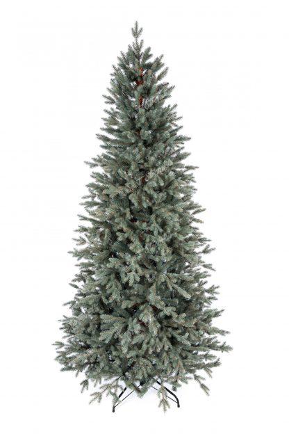 Umělý vánoční stromek 3D Smrk Ledový Úzký