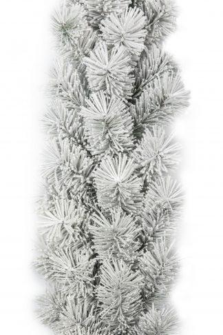 Vánoční girlanda borovice bílá
