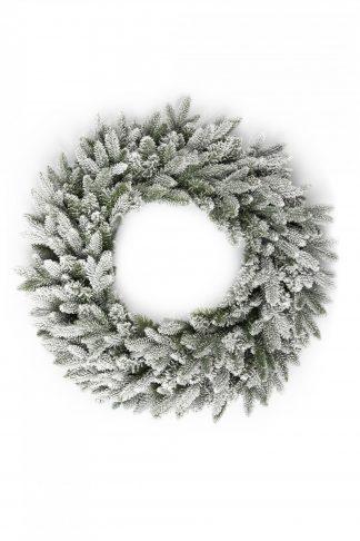 Vánoční věnec 3D Smrk Královský 60cm