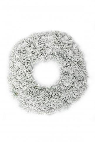 Vánoční věnec Borovice Bílá 60cm
