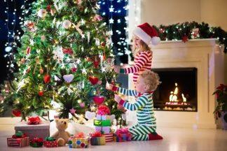 Stavani vánočního stromku