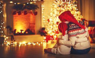 Vánoční stromky s LED osvětlením