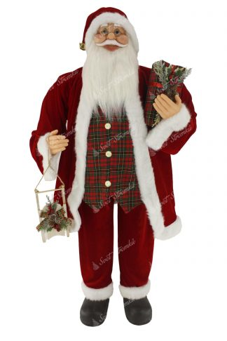 Dekorace Santa Claus Tradiční 115cm