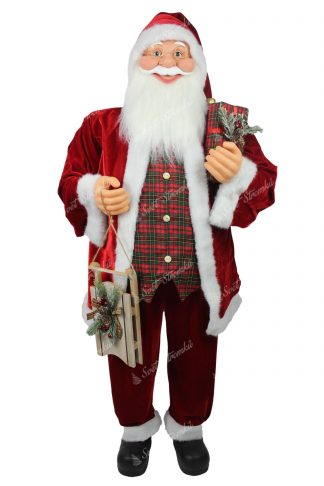 Dekorace Santa Claus Tradiční 150cm