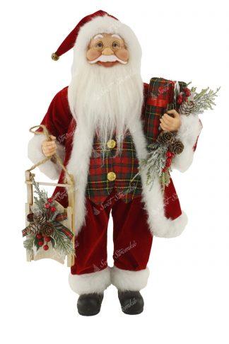 Dekorace Santa Claus Tradiční 46cm