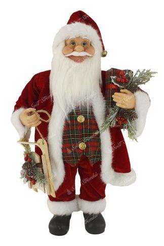 Dekorace Santa Claus Tradiční 60cm