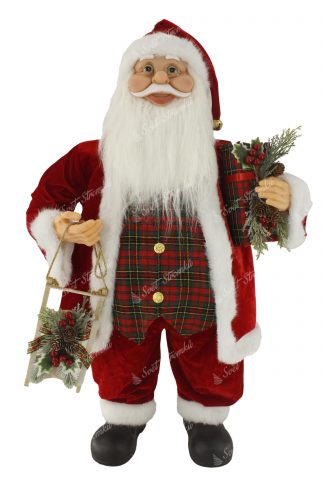 Dekorace Santa Claus Tradiční 80cm